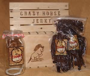 crazy horse jerky gift package