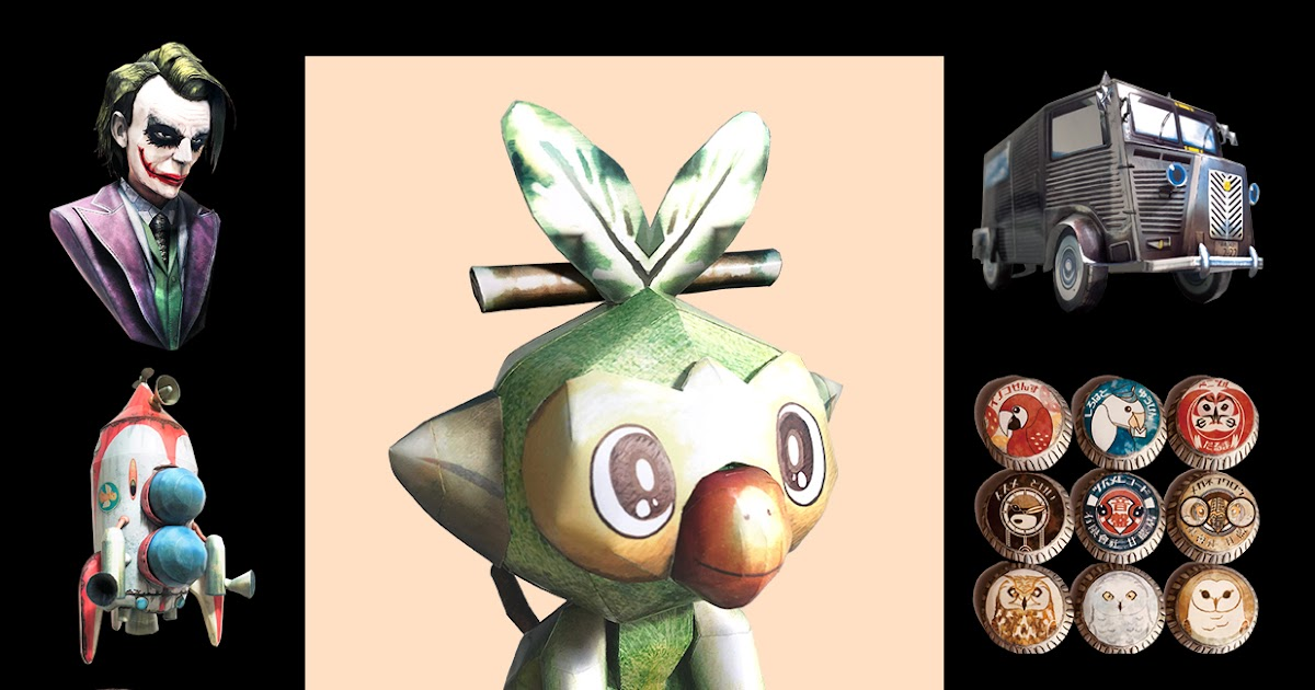 Ninjatoes Papercraft Weblog Free Papercraft Pokemon Grookey More O Read on for information on its evolutions, abilities, type advantages, and more. ninjatoes papercraft weblog blogger