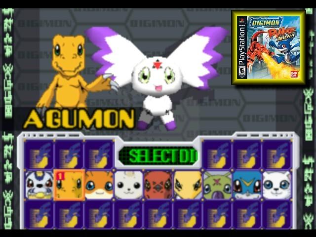 Digimon Rumble Arena. Free ISO PS1 ~ Airlandzz.com