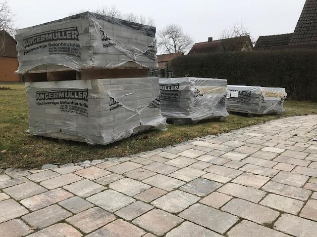 der neue Terrassenbelag (c) by Joachim Wenk