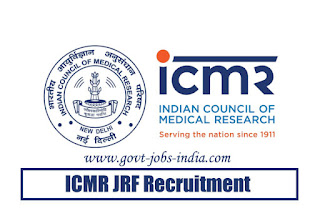 ICMR JRF Recruitment 2020
