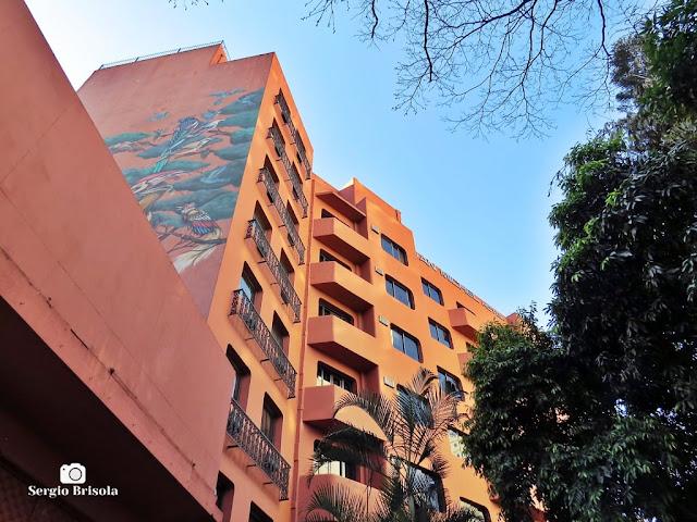 Vista de parte da fachada do Hotel San Michel - Centro - São Paulo