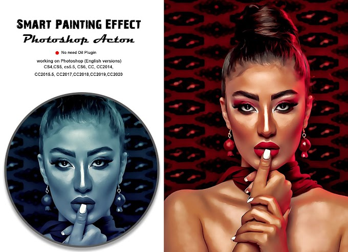 Smart Painting Effect[Photoshop][Actin][Action][5394795]