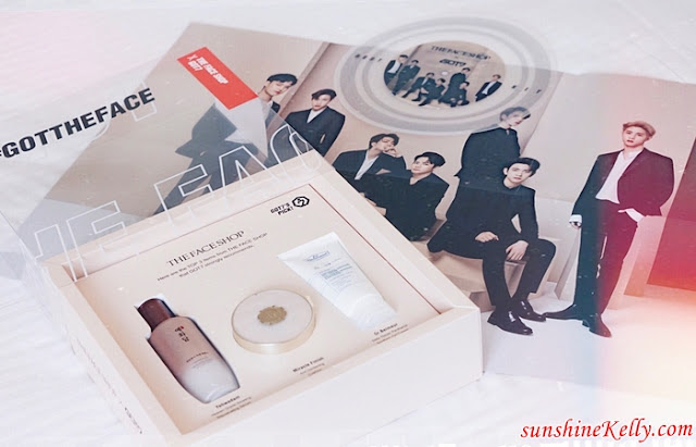 GOT7 Top 3 Picks from THE FACE SHOP #GOTTHEFACE, GOT7, Korean boyband, The Face Shop,  #GOTTHEFACE, #GOT7, Korean beauty, k beauty, beauty, Yehwadam Heaven Grade Ginseng Rejuvenating Essence, Miracle Finish Anti-Darkening Cushion Foundation, Dr.Belmeur Daily Repair Panthenol Gel Cream