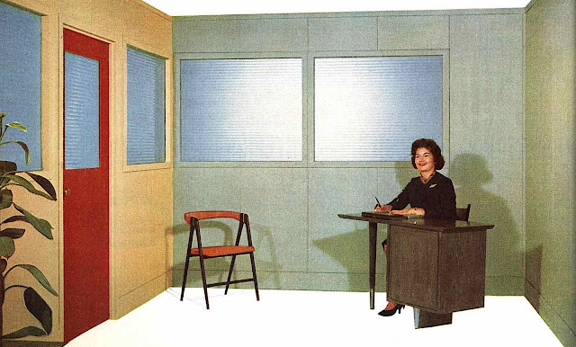 a 1959 office receptionist