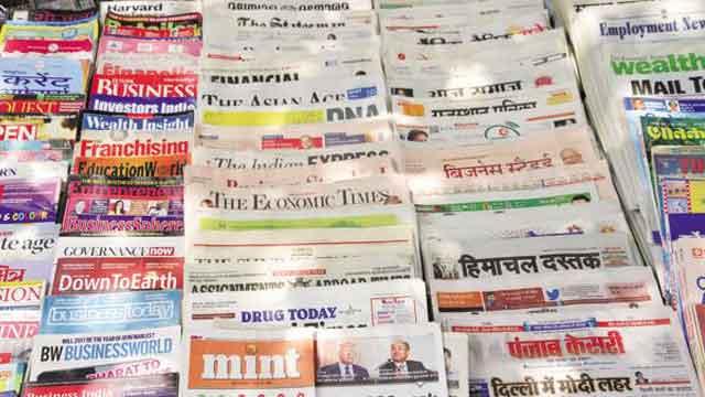 hindi bhasha ko impure karne me news papers ka role