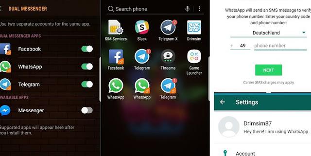 Samsung Galaxy S8 dengan Oreo: banyak pilihan, tapi tidak banyak pilihan. 2