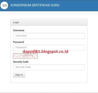 LOGIN ksg.kemdikbud.go.id