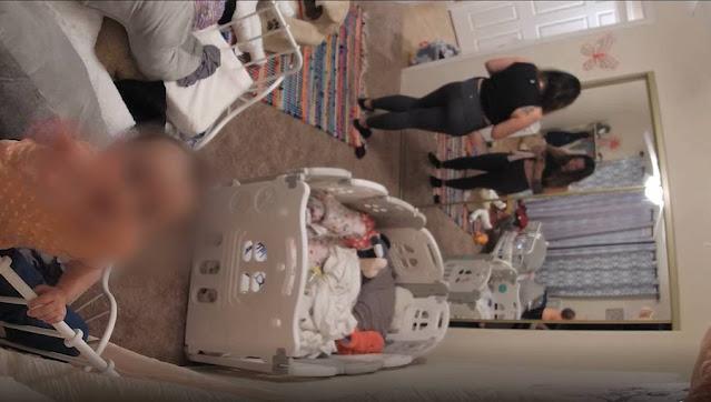Мама посмотрела кадры с видеоняни и пришла в ужас, поняв, что дочь идёт на чей-то страшный зов