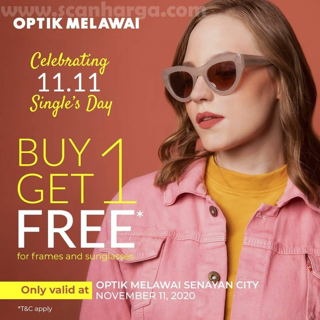 Promo Optik Melawai 11.11: Buy 1 Get 1 Free