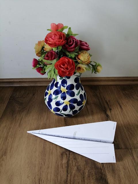 Vliegtuig vouwen van papier