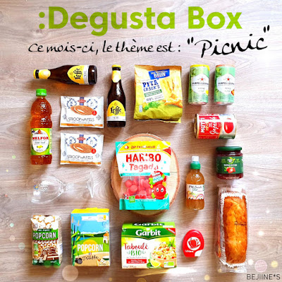 "Unboxing DegustaBox ""Pic Nic"""