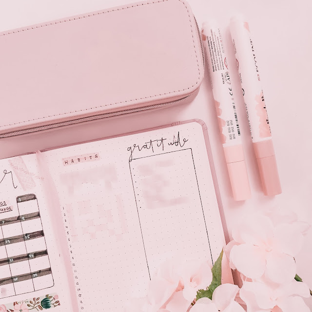 Plan With Me November Bullet Journal Layout