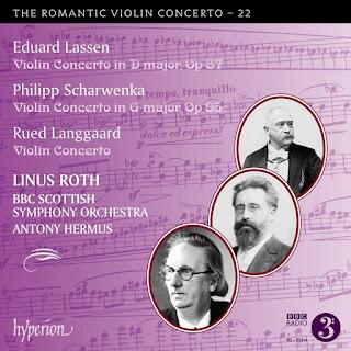 Hyperion - The Romantic VIolin Concerto - Lassen, Scharwenka, Langgaard