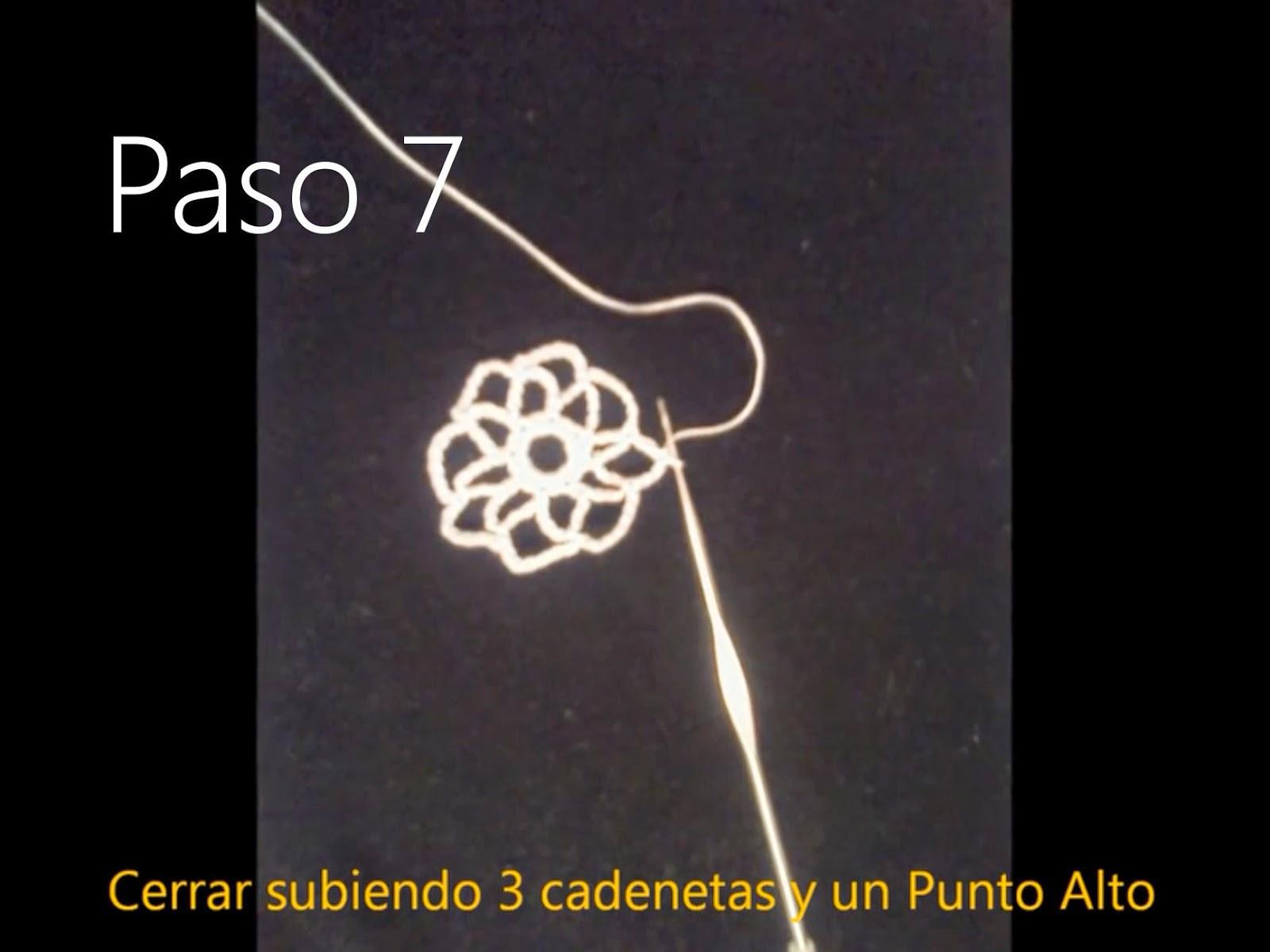 Tapete Flor Paso 7