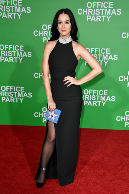 Office Christmas Party premiere Katy Perry