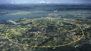 Ukuran mesin LHC - Cern