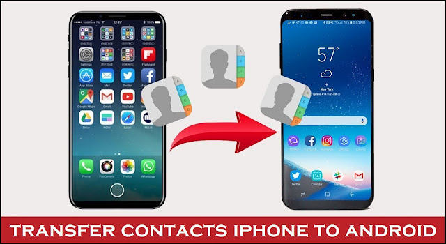 how to transfer contacts from iphone to android | sync icloud to android