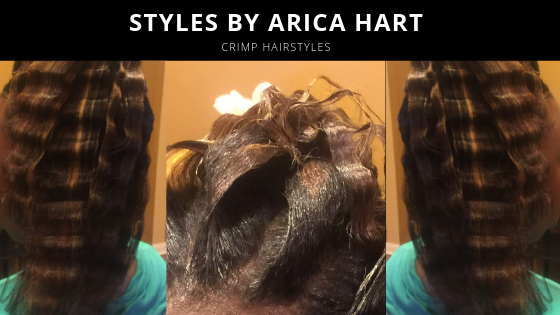 Crimped Hair styles by Arica Hart | hairstyles for trendy women