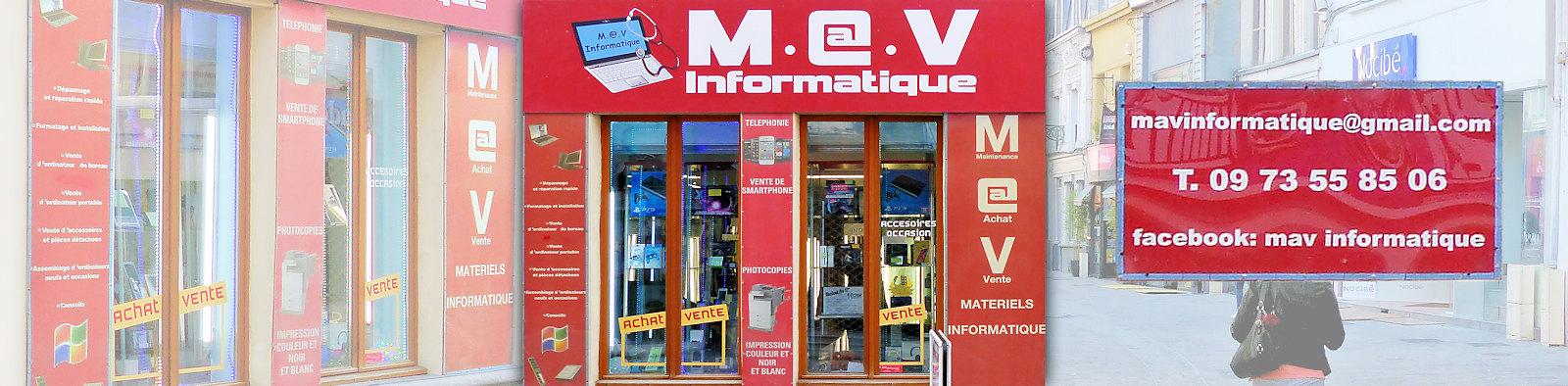 MAV Informatique, Rue de Lille, Tourcoing