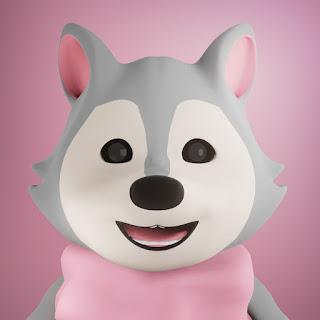 Karakter Serigili pada animasi 3D musik dan lagu anak Indonesia Hoala dan Koala