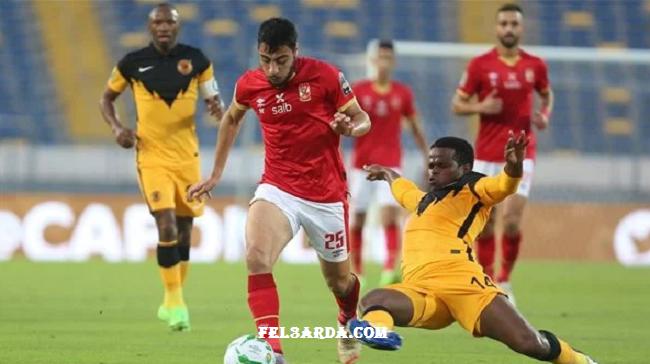 الأهلي يتعادل سلبياً فى الشوط الأول أمام كايزر تشيفز نهائي دوري أبطال أفريقيا 2021