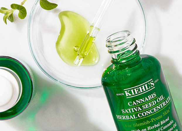 Cannabis Sativa Seed Oil Herbal Concentrate de Kiehl´s