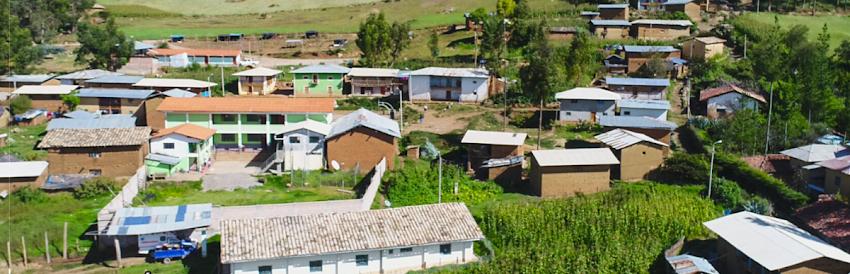 Centro Poblado de Calluán necesita un mercado decente