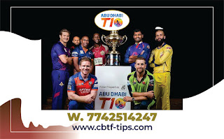 Three matches will be played in the Abu Dhabi T10 League Match Prediction
