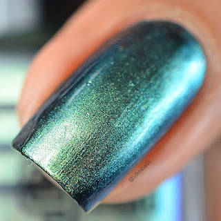 Glitter Gal Warped Teal