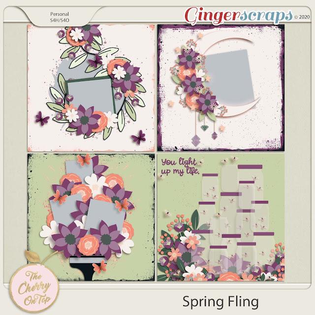 Spring Fling Templates