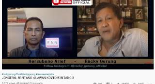 Rocky Gerung Sindir Luhut Agak Keras: Dia Jenderal Bintang 4 tapi Covid-19 Bintang 5