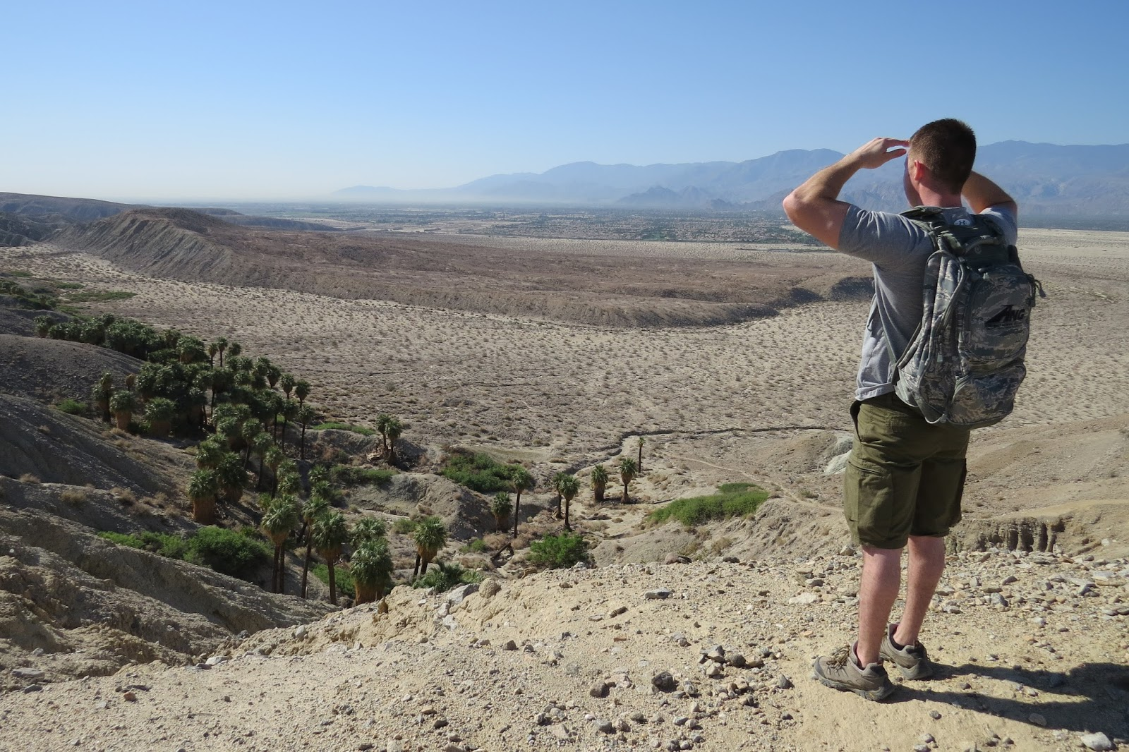 Palm Desert California, Pushwalla Canyon Hike at the Coachella Valley Preserve