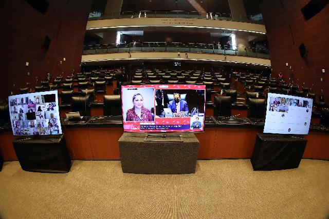 Senadores aprueban por mayoría, en lo general, la Reforma Eléctrica