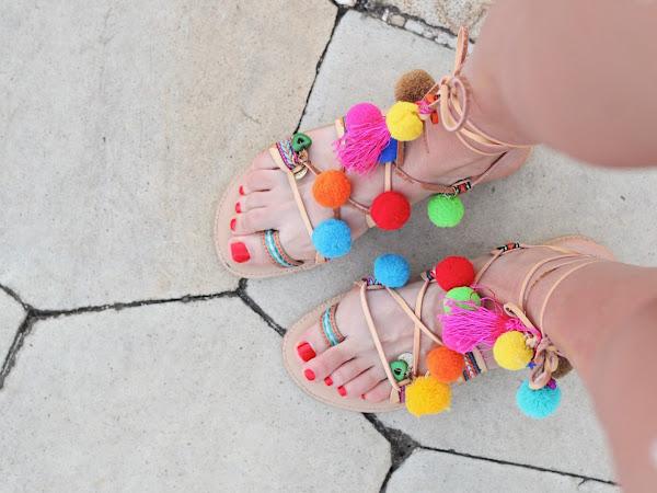 Bangin' Bohemian Sandals Under $30