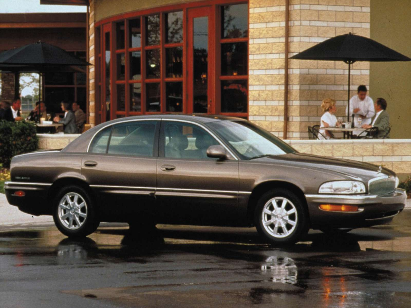 Buick Park Avenue on 2003 Buick Lesabre Limited