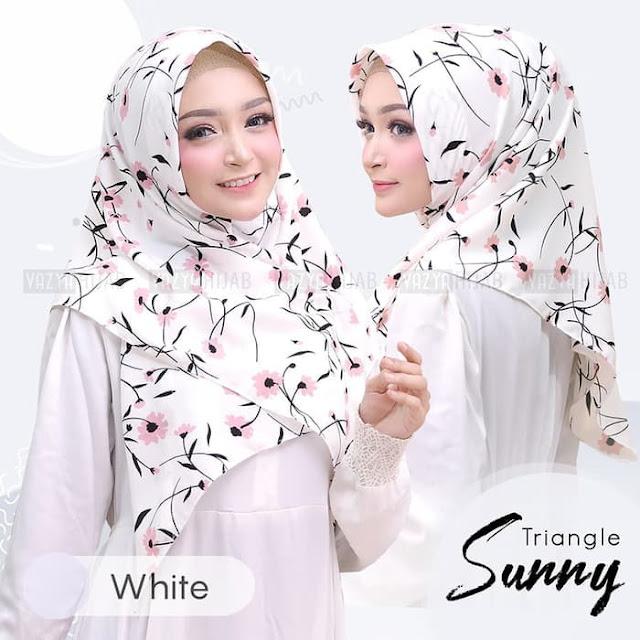 Jilbab Instan Segi Tiga instan Sunny Vayza Terbaru