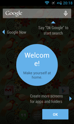 Google Search App, the Android KitKat Launcher