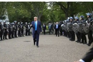 Trump threatens to send in troops to end protesters unrest over George Floyd death