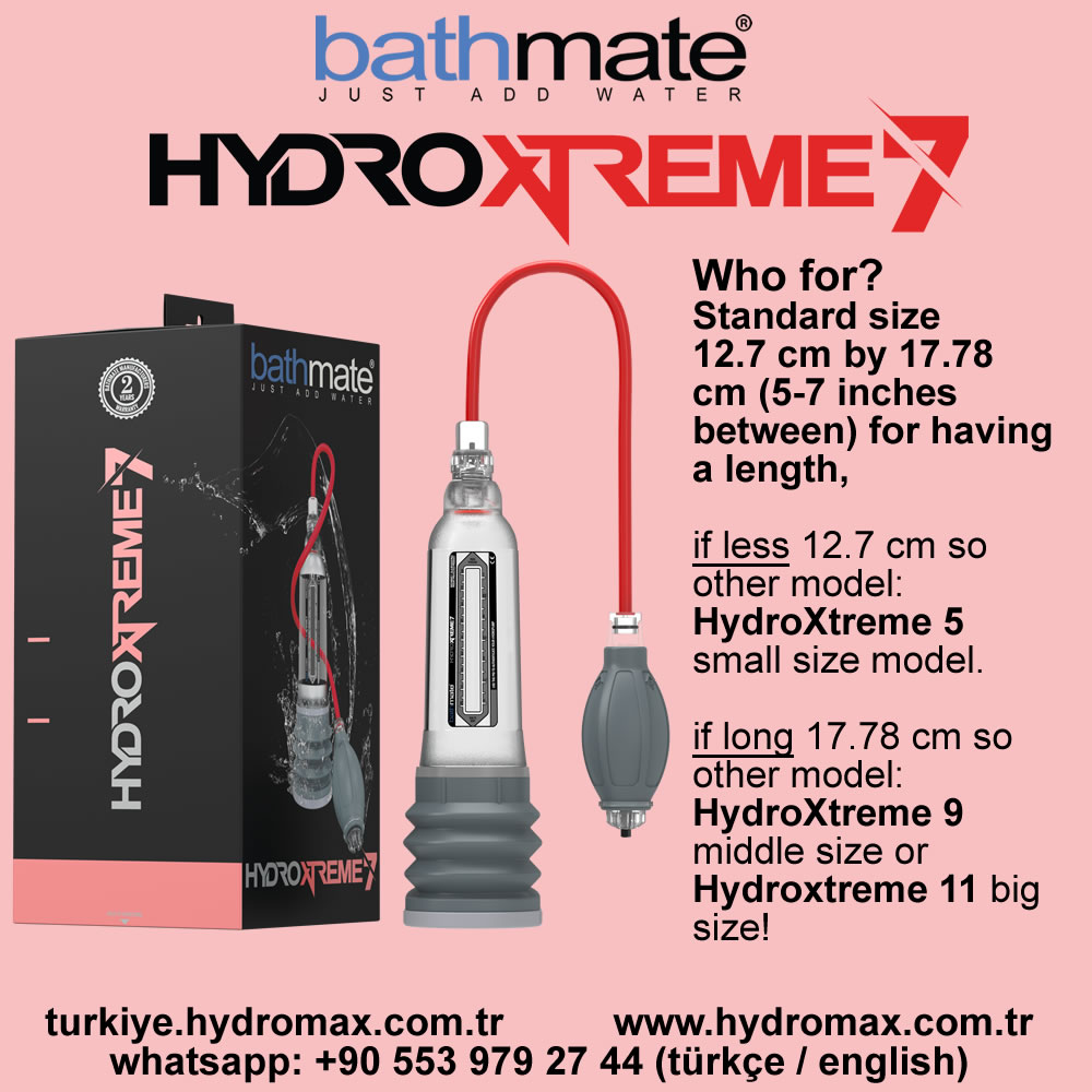 Bathmate Hydroxtreme 7 penis Pump who for? best penis pumps from bathmate.