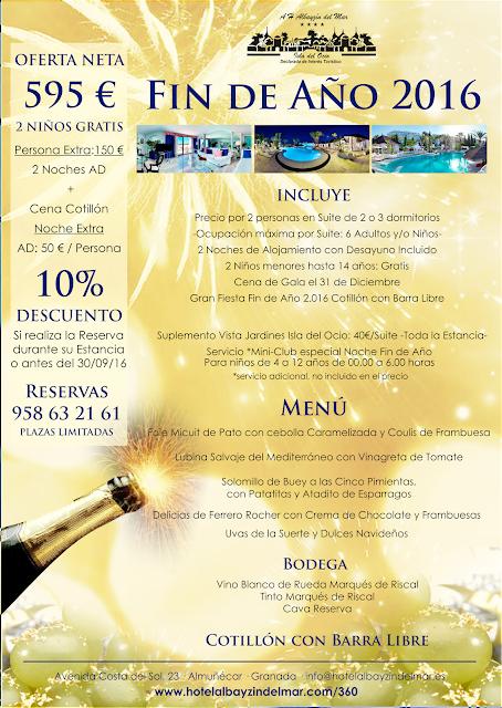 Hotel para vacaciones oferta fin de a o 2016 para familias for Hotel cielo mar ofertas familiares