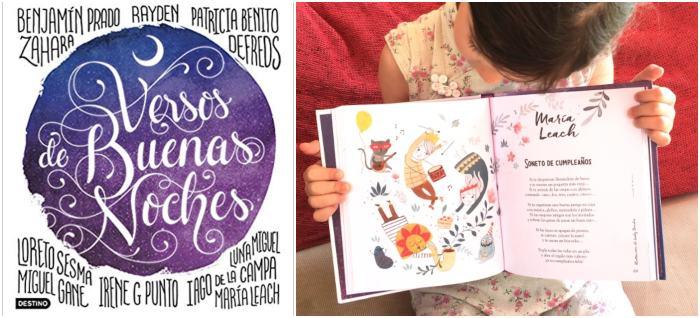 mejores libros de poesía infantil para niños, Versos de buenas noches