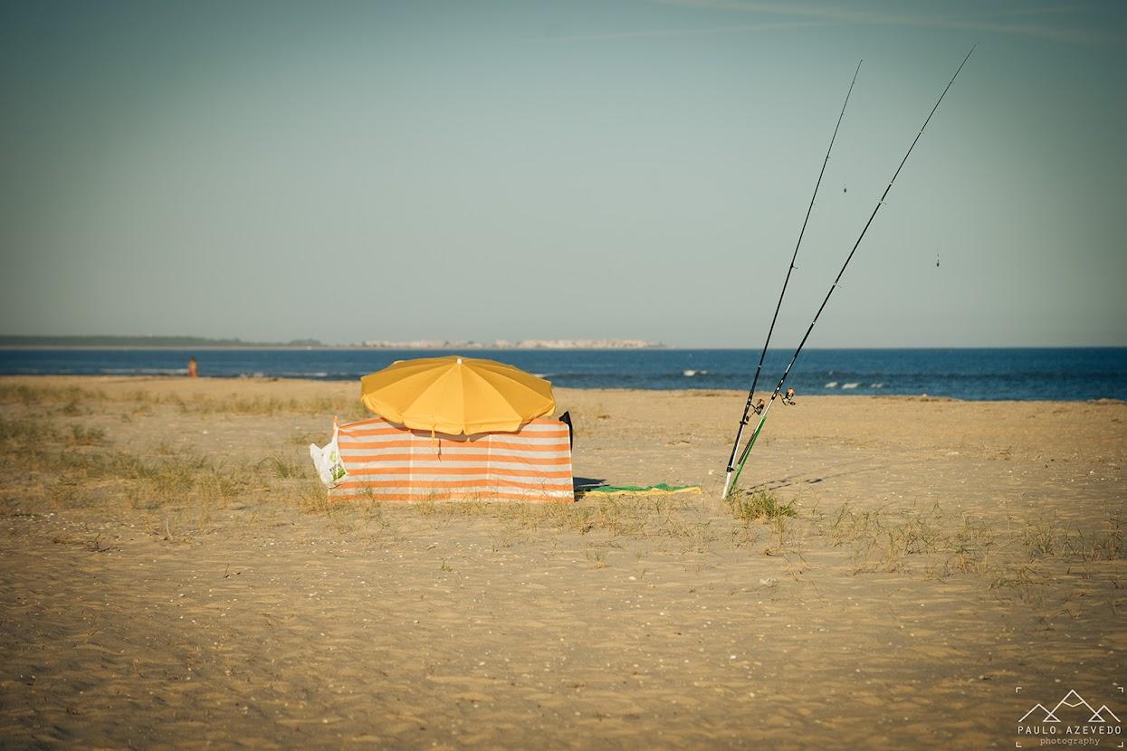 Areal da praia da Fábrica