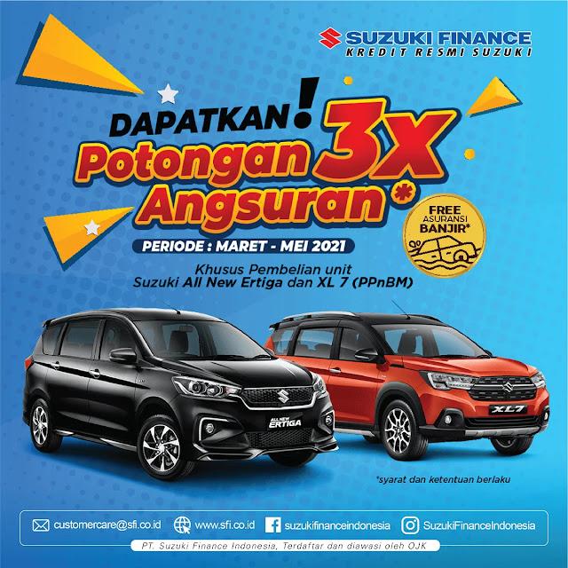 Suzuki Finance - Promo Potongan Angsuran