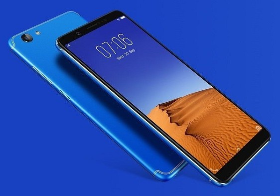 Vivo V7+ Energetic Blue Color Variant Launched