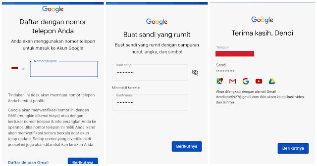 Tutorial lengkap cara membuat akun gmail atau email di android