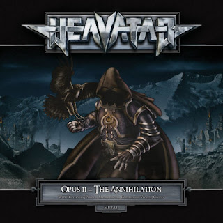 "Heavatar - ""None Shall Sleep"" (video) from the album ""Opus II - The Annihilation"""