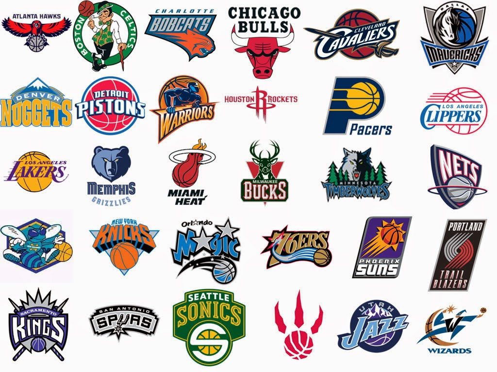 Logos of Basketball Teams