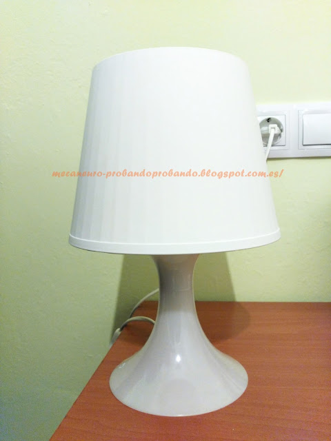 IKEA LAMPAN LÁMPARA DE MESA