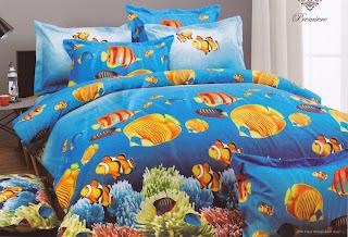 Sprei Kendra Premier Coral Fish